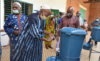 WHO PROVIDES A GUIDING LIGHT FOR BURKINA FASO'S COVID-19 PANDEMIC RESPONSE
